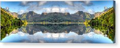 Mirror Lake Acrylic Print by Adrian Evans