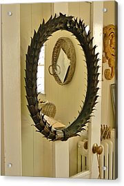 Acrylic Print featuring the photograph Mirror Mirror by Jean Goodwin Brooks