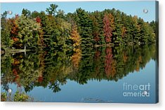 Mirror Mirror On The Wall Fall Is Fairest One Of All Acrylic Print