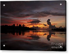 Acrylic Print featuring the photograph Mirror Of Nature by Gary Bridger