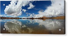 Mirror On The Highland Acrylic Print by Afrison Ma