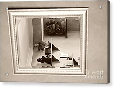 Mirror On The Wall  Acrylic Print by Bobby Mandal