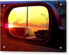 Mirror Sunset Acrylic Print