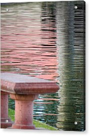 Acrylic Print featuring the photograph Mirror To The Soul by Deb Halloran