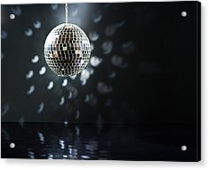 Mirrorball Acrylic Print by Ulrich Schade