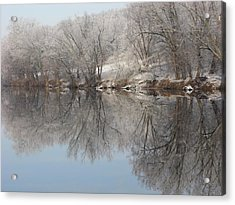 Mirrored Image Acrylic Print by Laura Corebello