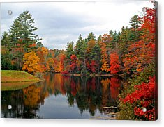 Mirrored Lake Acrylic Print