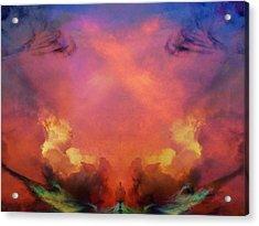 Mirrored Sky Acrylic Print