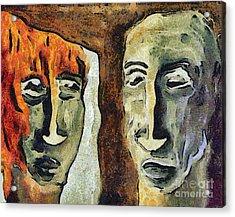 Mirroring - Retrospect Acrylic Print by Michal Boubin