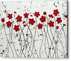 Mis Amores Acrylic Print by Carmen Guedez