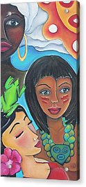 Mis Raices - My Roots Acrylic Print by Janice Aponte