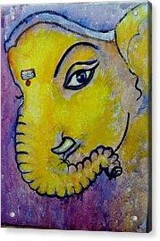 Mischievous Ganesha Acrylic Print