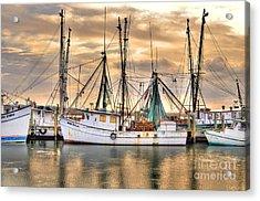 Miss Hale Shrimp Boat Acrylic Print