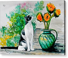 Da129 Miss Kitty Daniel Adams Acrylic Print