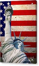 Miss Liberty 2 Acrylic Print
