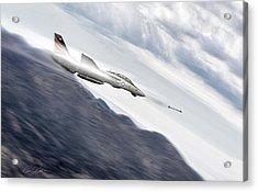 Missile Lock F-14 Acrylic Print