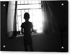 Missing Daddy Acrylic Print by Dexter Browne