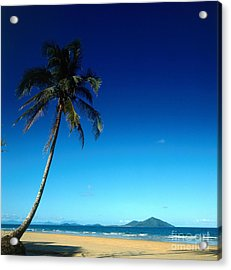 Mission Beach And Dunk Island Acrylic Print by Dale Boyer
