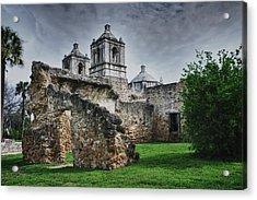 Mission Concepcion San Antonio Texas Acrylic Print