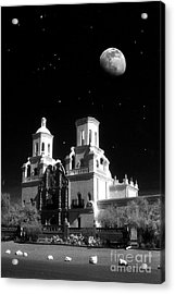 Mission Del Bac Acrylic Print by Robert Kleppin