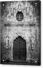 Mission Entrance Acrylic Print