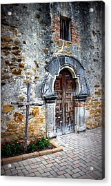 Mission Espada - Doorway Acrylic Print