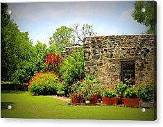 Mission Espada - Garden Acrylic Print