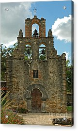 Acrylic Print featuring the photograph Mission Espada by Olivia Hardwicke