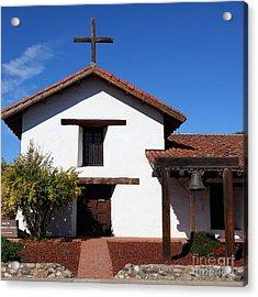 Mission Francisco Solano Downtown Sonoma California 5d19295 Square Acrylic Print