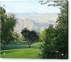 Mission Hills Golf Acrylic Print by Randall Weidner