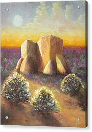Mission Imagined Acrylic Print by Jerry McElroy