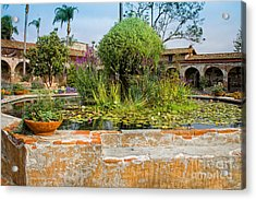 Mission Lilly Pond Acrylic Print