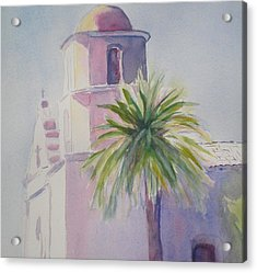Mission Acrylic Print by Lori Chase