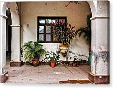 Acrylic Print featuring the photograph Mission Nuestra Senora De Loreto Concho by Kandy Hurley
