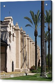 Mission Palms Acrylic Print