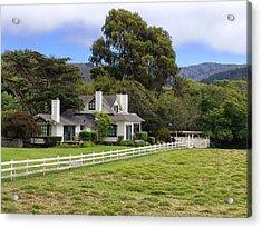 Mission Ranch - Carmel California Acrylic Print by Glenn McCarthy Art and Photography