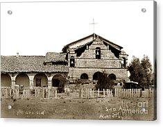 Mission San Antonio De Padua California Circa 1885 Acrylic Print