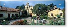Mission San Carlos Borromeo De Carmelo Acrylic Print by Panoramic Images