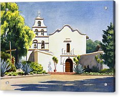 Mission San Diego De Alcala Acrylic Print
