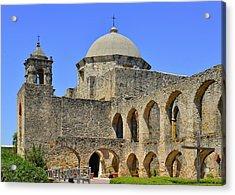 Mission San Jose - San Antonio Acrylic Print by Christine Till