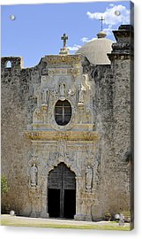 Mission San Jose - San Antonio Tx Acrylic Print by Christine Till