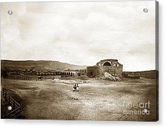 Mission San Juan Capistrano California Circa 1882 By C. E. Watkins Acrylic Print