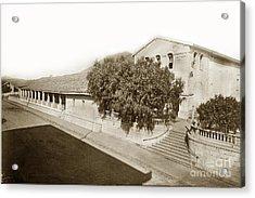 Mission San Luis Obispo De Tolosa California 1880  Acrylic Print