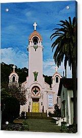 Mission San Rafael Acrylic Print by Eric Tressler