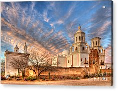 Mission San Xavier Del Bac 1 Acrylic Print
