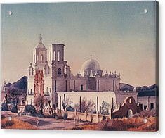Mission San Xavier Del Bac Tucson Acrylic Print