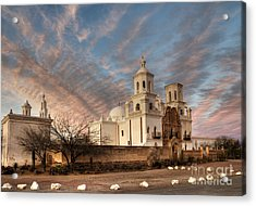 Mission San Xavier Del Bac Acrylic Print