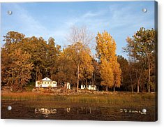 Missisquoi Bay Camps Acrylic Print