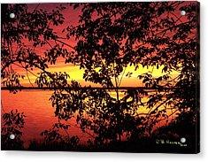 Missisquoi Sunset Acrylic Print