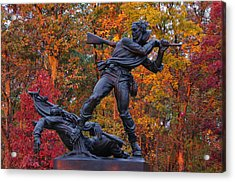 Mississippi At Gettysburg - The Rage Of Battle No. 1 Acrylic Print